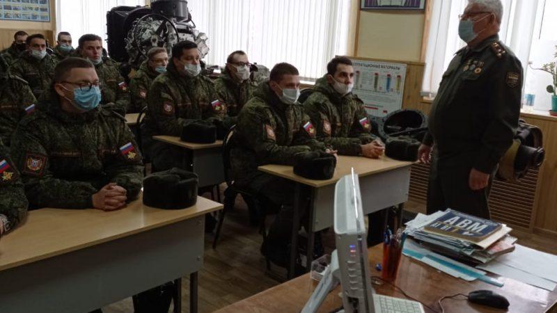 Добрая традиция между Тамбовской ОТШ и ТГУ им. Г.Р. Державина.