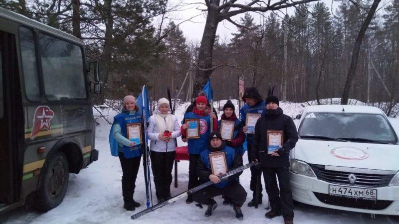 ДОСААФовская лыжня — 2021