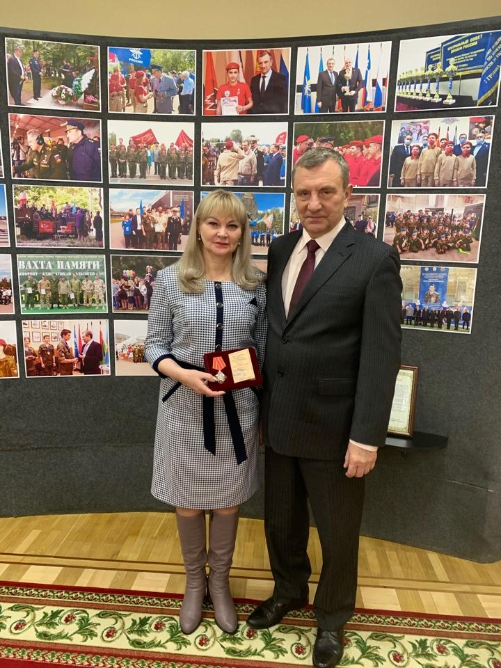 Председателя регионального отделения ДОСААФ России Тамбовской области наградили орденом.