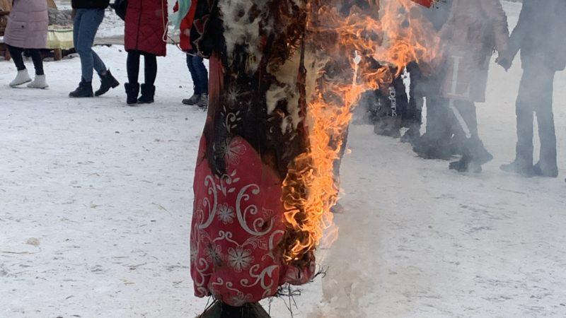 Региональное отделение ДОСААФ России совместно с профсоюзом отметили широкую Масленицу.