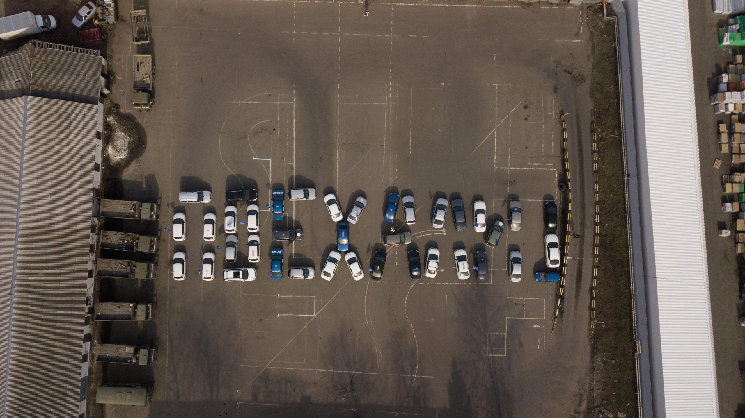 Флешмоб ДОСААФ к дню космонавтики.
