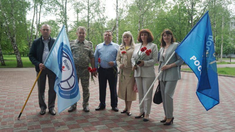 ДОСААФ России Тамбовской области  принял участие в 33-ей годовщине начала вывода советских войск из Афганистана