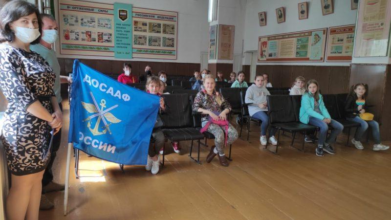 Жердевская автошкола ДОСААФ России провела урок истрии, посвященный 95- летию ДОСААФ России